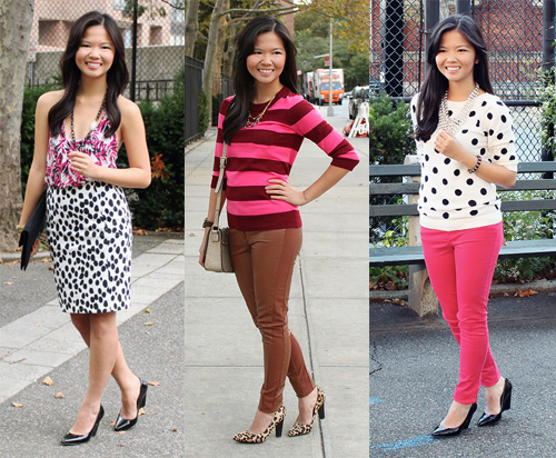 Jenny in Jacquard; NYC fashion blogger; style blog; October outfit photos