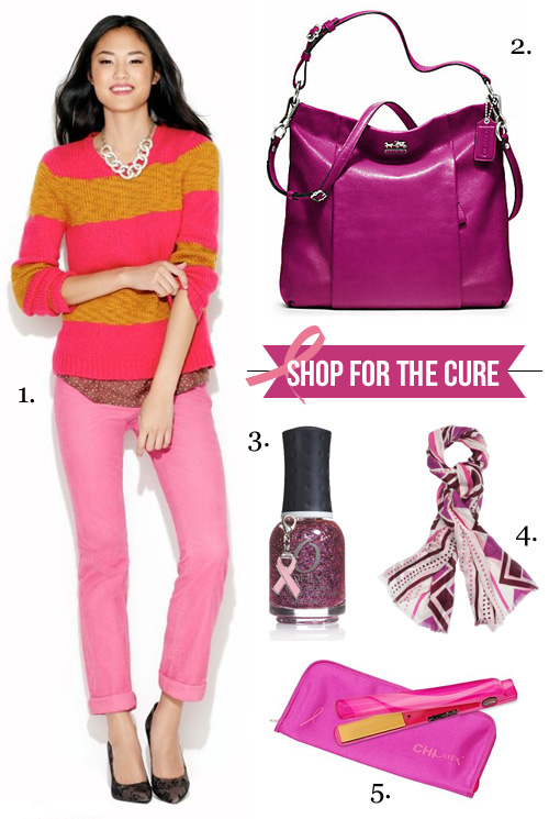 Shopping and Fashion Supporting Breast Cancer Research