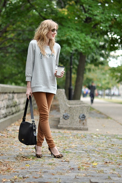 Jenny in Jacquard; NYC fashion blogger; style blog; Pinterest inspiration; Pinspiration; how to wear neutrals in Fall 2012;